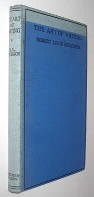 Essays In The Art Of Writing Robert Louis Stevenson Chatto & Windus 1925