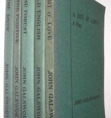 5 John Galsworthy Plays Duckworth & Co 1915-25