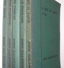 5 John Galsworthy Plays Duckworth & Co 1915-25