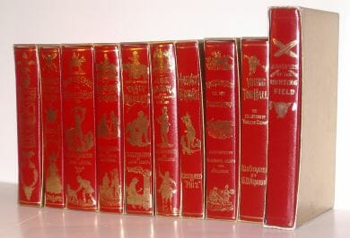Surtees 9 Sporting Novels & Analysis of the Hunting Field Folio Society 1981-89