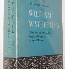 The Complete Plays Of William Wycherley New York University Press 1967