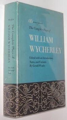The Complete Plays Of William Wycherley New York University Press 1967