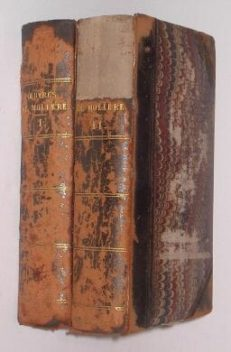 Oeuvres Completes De Moliere 2 Vols 1872