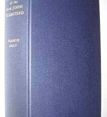 An Account Of The Revd John Flamsteed Baily 1966