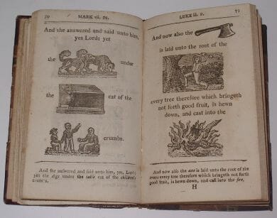 Hieroglyphical Bible Dean And Munday 1815