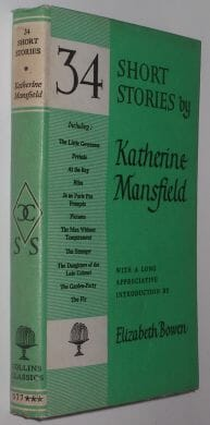 34 Short Stories by Katherine Mansfield Collins Classics 1972