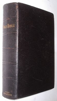 Holy Bible Illustrated Teachers Edition Eyre c1900