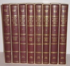 The Decline and Fall Of The Roman Empire Gibbon 8 Volumes Folio Society 1983-90