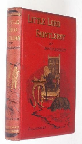 Little Lord Fauntleroy Book