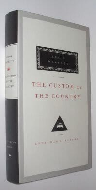 The Custom Of The Country Edith Wharton Everymans Library 1994
