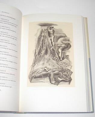 Aeschylus Prometheus Bound Shelley Prometheus Unbound New York 1965