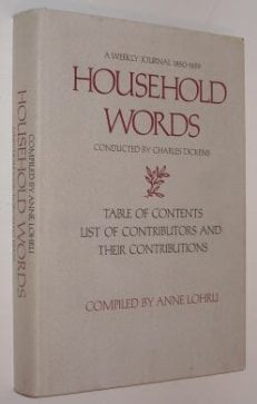 Household Words Compiled By Anne Lohri Toronto 1973