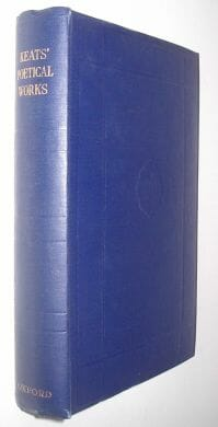 The Poetical Works Of John Keats Cumberlege Oxford 1948