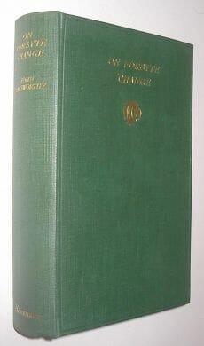 On Forsyte Change John Galsworthy Heinemann 1930