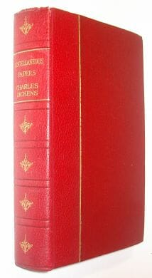 Miscellaneous Papers Charles Dickens Encyclopaedia Britannica c1920