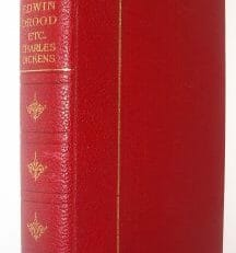 Edwin Drood Charles Dickens Encyclopaedia Britannica c1920