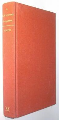 A D H Lawrence Companion Pinion Macmillan 1978