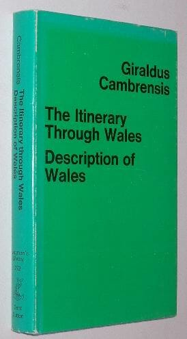 The Itinerary through Wales Description of Wales Dent 1976