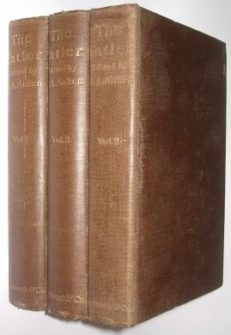 The Tatler George Aitken 3 Volumes Duckworth & Co 1898