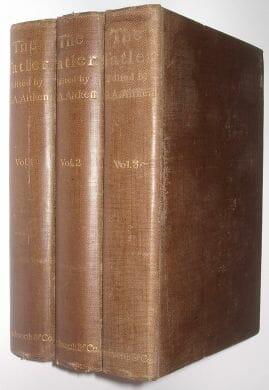 The Tatler George Aitken 3 Volumes Duckworth & Co 1898