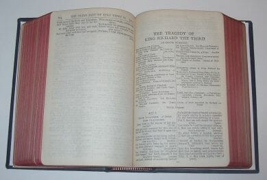 The Works Of Shakespeare Ward Lock Leather c1900