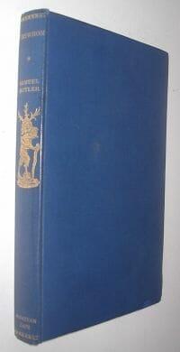 Erewhon Or Over The Range Samuel Butler Jonathan Cape 1931