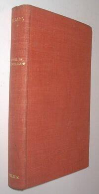 Essays of Montaigne Thomas Nelson c1920