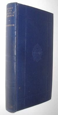 The Diary Of A Country Parson 1758-1802 Woodforde Oxford 1949