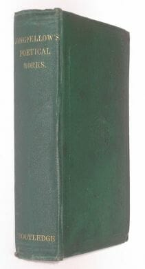 The Poetical Works of Henry Wadsworth Longfellow Routledge 1866