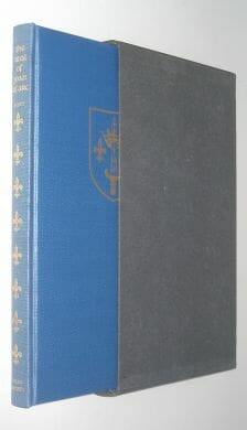 The Trial of Joan of Arc Scott Folio Society 1968
