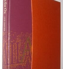 A is for Ox A Short History of the Alphabet Lyn Davies Folio Society 2006