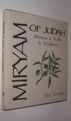 Miriam of Judah Ann Johnson Ave Maria Press Notre Dame 1987