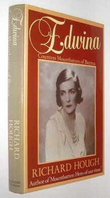 Edwina Countess Mountbatten of Burma Hough Weidenfeld 1983