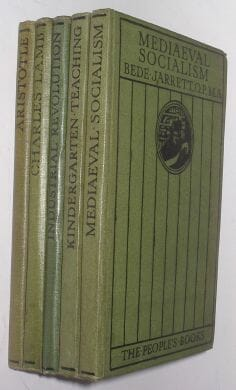 5 Volume The Peoples Books Collection Jack c1913