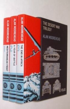The Desert War Trilogy Alan Moorehead Folio Society 2010