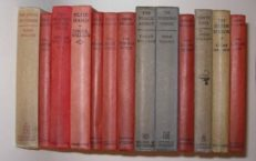 Edgar Wallace Thriller Collection 13 Volumes 1922-1933