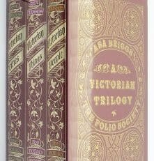 A Victorian Trilogy Asa Briggs Three Volumes Folio Society 1996
