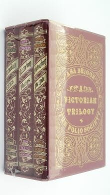 A Victorian Trilogy Asa Briggs Three Volumes Folio Society 1996