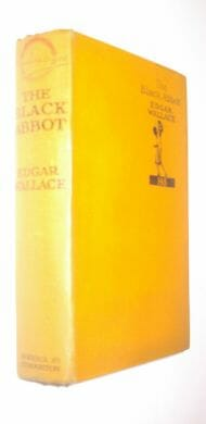 The Black Abbot Edgar Wallace Hodder & Stoughton [1930]