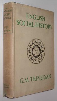 English Social History Trevelyan World Books 1948
