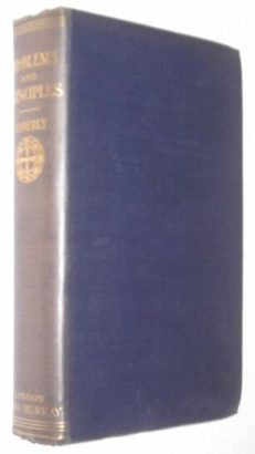 Problems And Principles Moberly Murray 1904