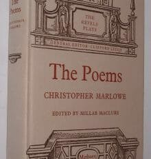 The Poems Christopher Marlowe Methuen/MUP 1968