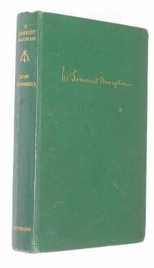 Don Fernando Somerset Maugham Heinemann 1938