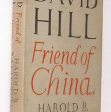 David Hill Friend Of China Rattenbury Epworth 1949