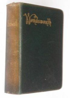 The Poetical Works Of Wordsworth Warne c1906