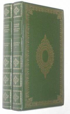 Christmas Stories 2 Volumes Charles Dickens Heron 1970