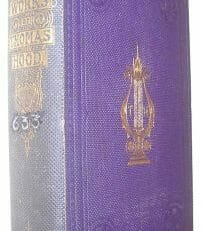 The Works Of Thomas Hood Volume 2 Edward Moxon 1862