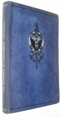 The Romance of Canterbury Cathedral Babington Tuck 1945