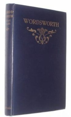 Wordsworth Poetry & Prose Clarendon 1938