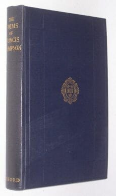The Poems Of Francis Thompson Oxford 1938